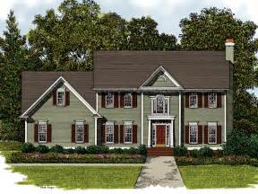 Traditional Two Story House Plans Meridian Place Georgian Home Plan 013d 0017 House Plans