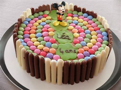 Decoration Gateau Anniversaire Mickey by D 233 Co Gateau Mickey Anniversaire