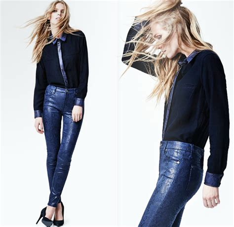 are skinny jeans still in style 2014 2015 7 for all mankind 2014 2015 fall winter womens lookbook