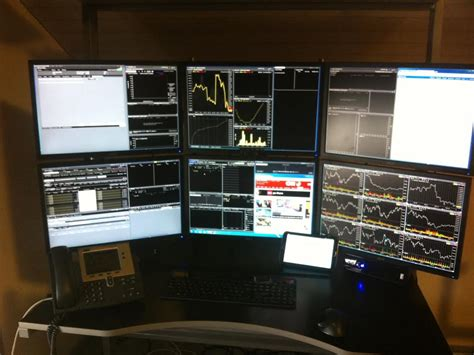 The Trading Desk by 14 Badass Trading Desk Setups From Around The World