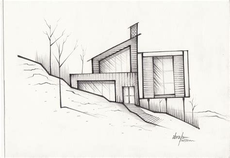 Sketches Architecture by Architecture Sketch On Behance