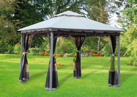 giardino con gazebo gazebo da giardino 3x3 in acciaio smeralda prezzoforte