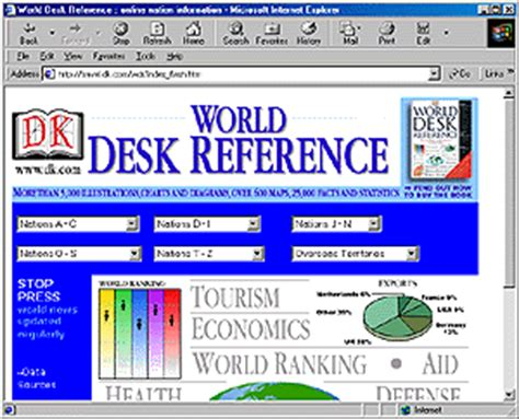 World Desk Reference world desk reference libraryspot reference site of the month