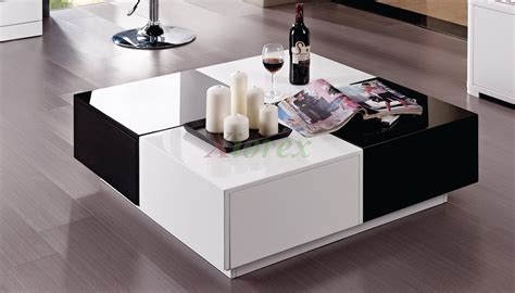 black and white modern furniture vaughan black and white lacquer coffee table furniture