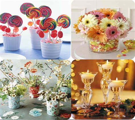 Handmade Centerpieces - 5 diy wedding centerpiece ideas wedding to be