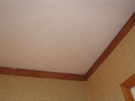 Cover A Popcorn Ceiling by Covering Popcorn Ceiling With Plaster