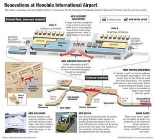 Honolulu Car Rental Age 18 Graphic Renovations At Honolulu International Airport