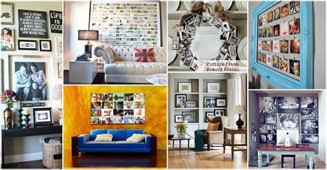 Home Decor Photo Unique Ideas How To Display Your Family Photos In Your Home