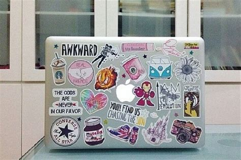 Sticker Keren Stiker For Laptop what your laptop stickers say about you