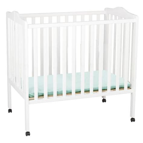 White Mini Crib Delta Children Portable Mini Crib White 080213002770 119 99