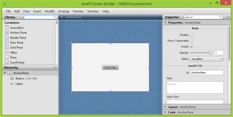 tutorial javafx scene builder 1 d 237 l 218 vod do javafx