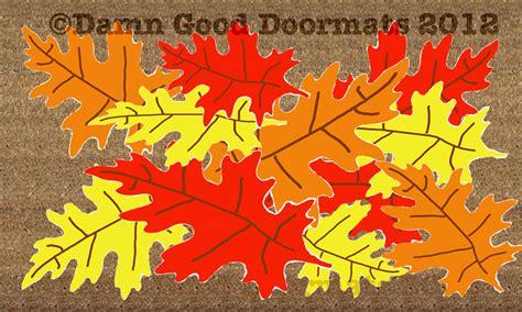 Fall Door Mats New Seasonal Doormats Damn Doormats
