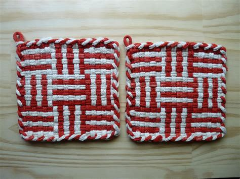 potholder loom pattern potholder patterns on pinterest potholders loom
