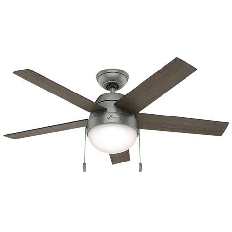 cfl ceiling fan bulbs hunter 59267 anslee light grey oak grey walnut