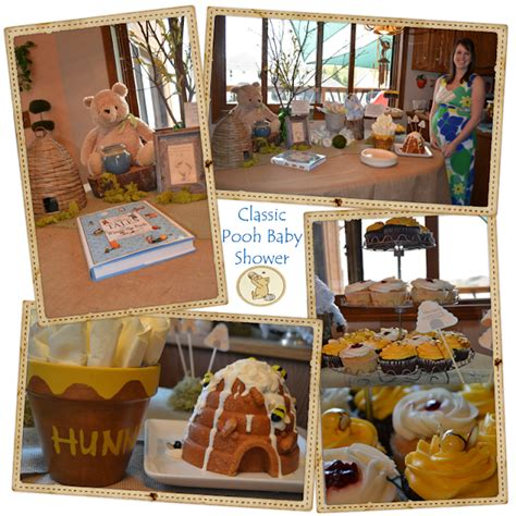 Vintage Winnie The Pooh Baby Shower by The Classic Winnie The Pooh Baby Shower