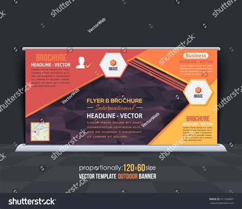 elements of layout in advertising geometric elements outdoor advertising design horizontal