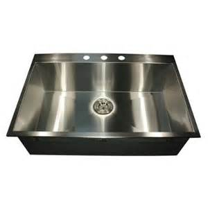 33 Inch Kitchen Sink Buy Zero Radius 33 Inch 16 Topmount Stainless Steel Kitchen Sink With Drain In Cheap Price