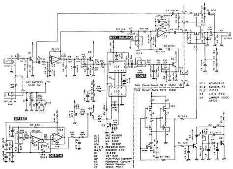 guitar circuit diagram guitar delay circuit diagram circuit and schematics diagram