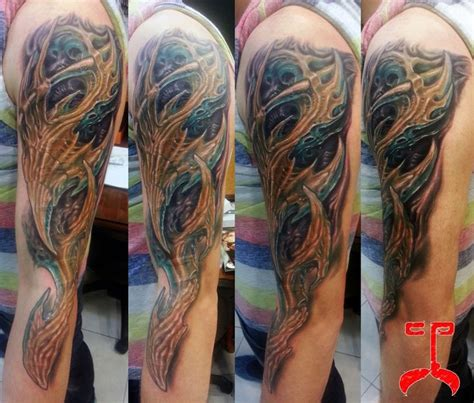tattoo ink organic 64 best bio organic mechanical tattoos images on pinterest