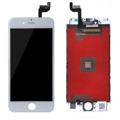 ecran lcd complet iphone 6s blanc original lapommediscount