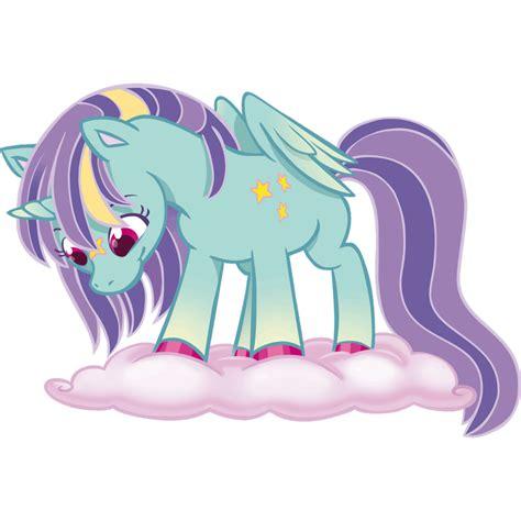 Imagenes Unicornios Infantiles | vinilos infantiles unicornio en nube leostickers