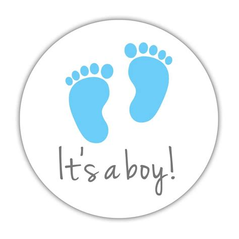Its Boy 1 it s a stickers gender reveal stickers dazzling daisies