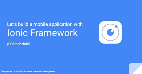 build your first mobile app with ionic 2 angular 2 let s build a mobile application with ionic framework 1