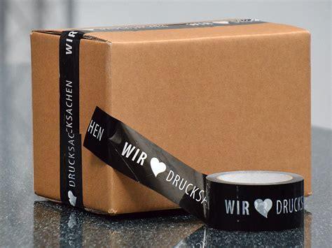 Aufkleber Drucken Ab 1 St Ck by Paketklebeb 228 Nder Mit Logo Druck Drucken Schnell G 252 Nstig