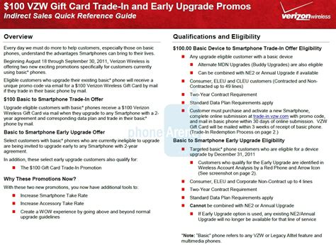 Verizon Trade In Gift Card - verizon trade in program will offer basic phone users 100 to upgrade windows central