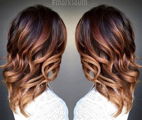 fall highlights for brown hair 20 cute fall hair colors and highlights ideas caramel