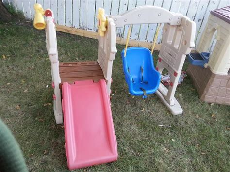 tikes swing slide tikes slide and swing