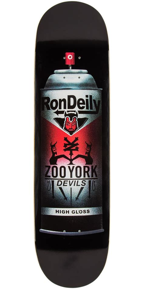 hs zoo deck zoo york high gloss deily skateboard deck