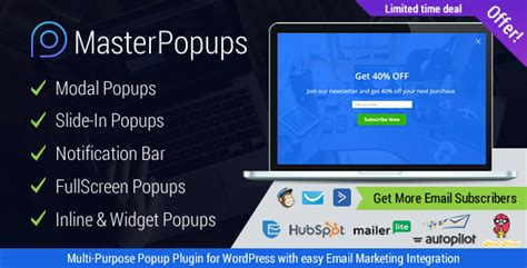 master popups v1 2 1 wordpress popup plugin for lead