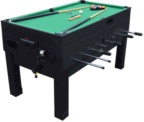 Combination Tables by Playcraft Danbury Black 14 In 1 Combination Table
