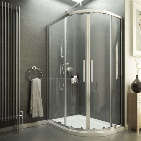 1200 X 1000 Shower Enclosure by 1000 X 800 Offset Quadrant Shower Enclosure 6mm Glass
