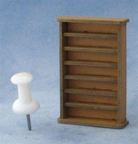 1 48th scale large bookshelf kit