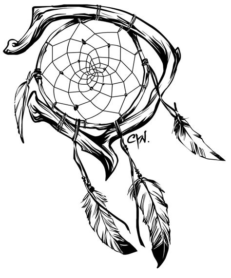 dream catcher tattoo vector google image result for http www deviantart com download