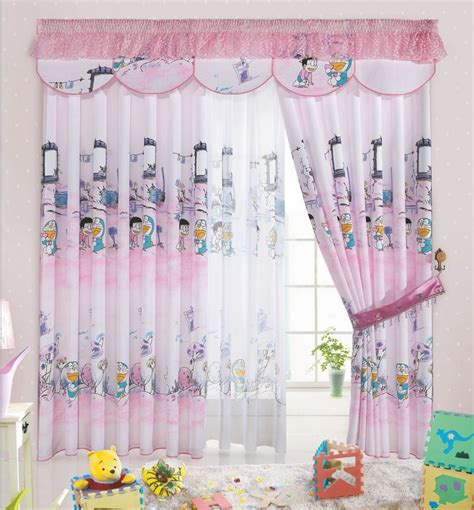 baby girl room curtains cartoon print blackout baby room curtains children girls