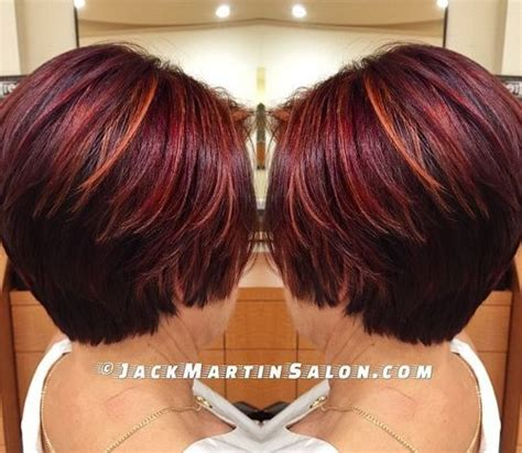 caramel and burgandy highlights on older ladies hair 35 brilliant dark brown hair with highlights slodive