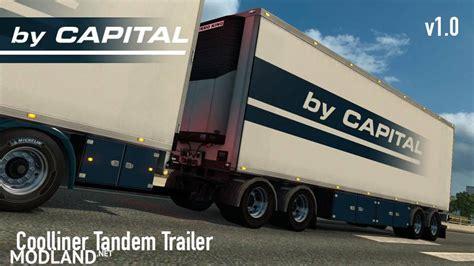 coolliner tandem trailer mod  ets