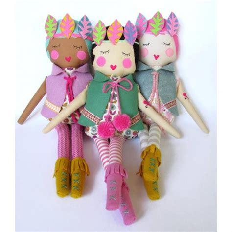 Handmade Felt Dolls - boho dolls handmade felt dolls handmade toys