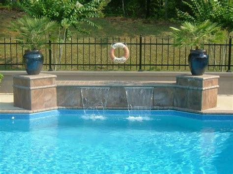 pool waterfall ideas swimming pool waterfall designs backyard design ideas