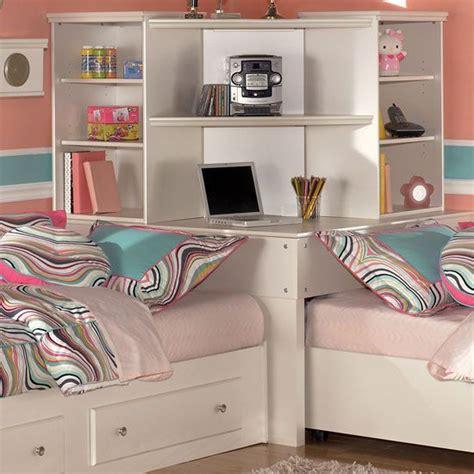 corner bedroom furniture corner unit bedroom set signature design by ashley mi