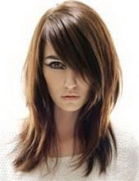 razor cut shag for long hair razored layered haircuts