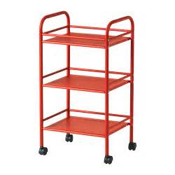 ikea cart draggan cart red ikea