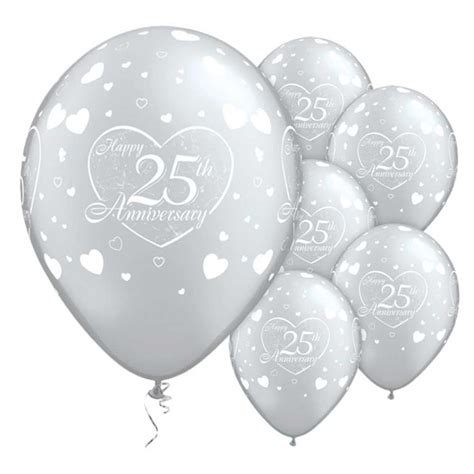 Wedding Anniversary Balloons by 11 Quot Wedding Anniversary Printed Balloons Decorations