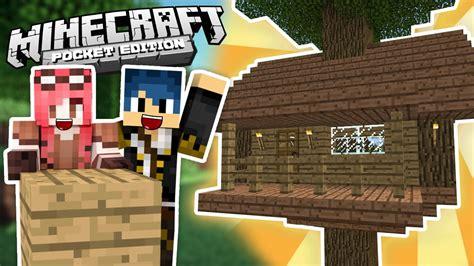 minecraft casa sull albero minecraft pe la casa sull albero ep 1
