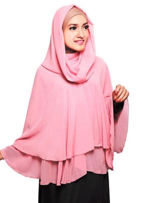 Jilbab Instan Yang Lagi Ngetren contoh model 19 model syar i modis 2017