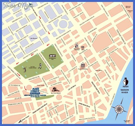 printable map ho chi minh city maps update 16001315 tourist map of ho chi minh city