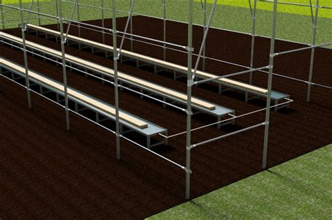 hydroponic tables other autodesk inventor 3d cad